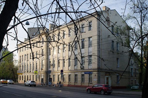 Четырехэтажка на Каланчевской улице, Москва