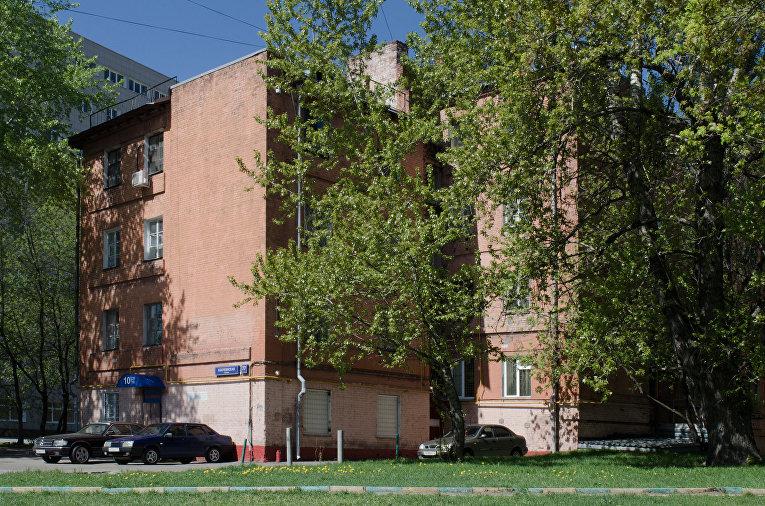 Дом на Бакунинской улице, Москва