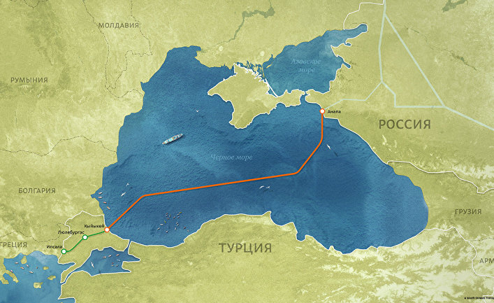 после ухода россии из сириипротянут газопроводы