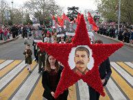 Участники акции «Бессмертный полк» в Севастополе