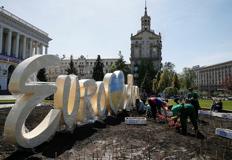 Подготовка к «Евровидению» в Киеве