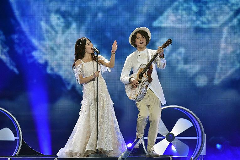 Выступление белорусского дуэта Naviband