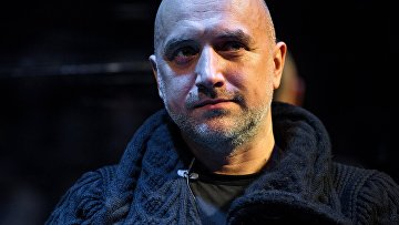 Писатель Захар Прилепин