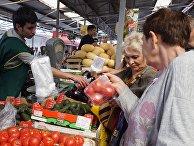 Рыночная торговля в Калининграде