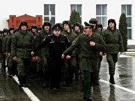 Первый за 20 лет призыв новобранцев из Чеченской Республики в ВС РФ