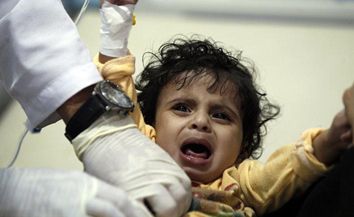 ВОЗ: неменее 240 человек погибли отхолеры вЙемене затри недели