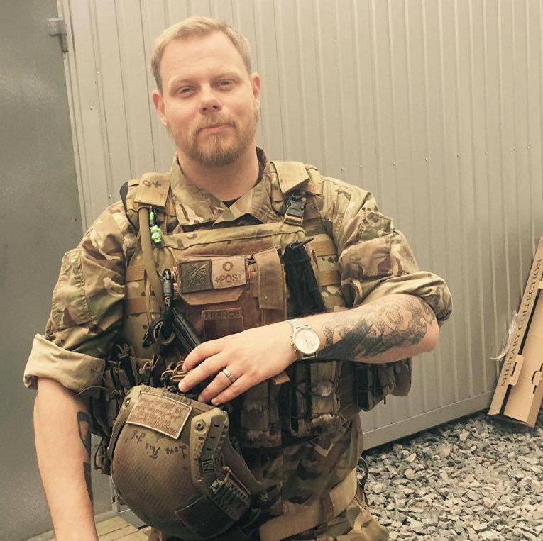 Шведский снайпер Микаэл Шилльт