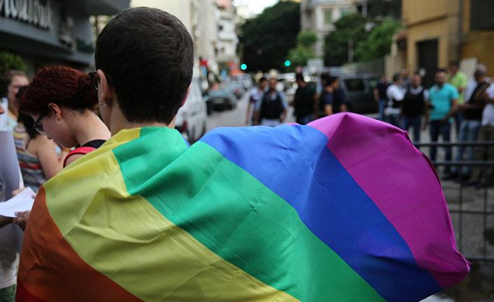 Акция протеста за права ЛГБТ сообщества в Ливане