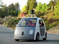 Компания Google представила концепцию самоуправляемого автомобиля