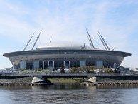 """Стадион """"Санкт-Петербург Арена"""" на Крестовском острове в Санкт-Петербурге"""