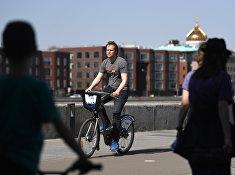 Открытие пунктов велопроката в Москве