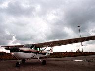 Самолет западногерманского пилота М.Руста
