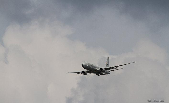 Патрульный противолодочный самолет Боинг P-8 «Посейдон»