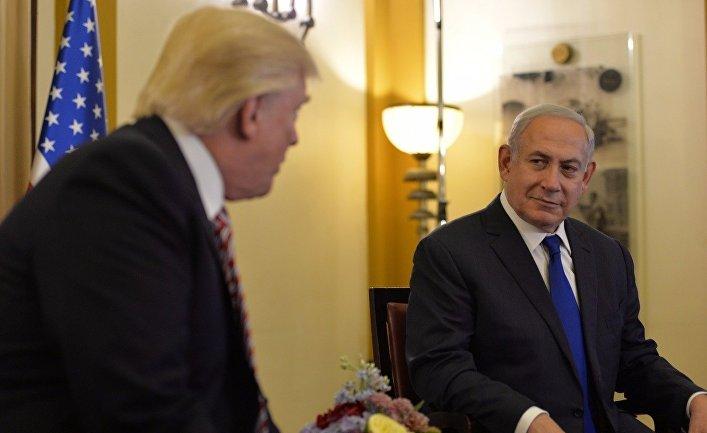Визит Дональда Трампа в Израиль