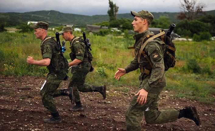 Военные соревнования «Десантный взвод - 2017» в Новороссийске