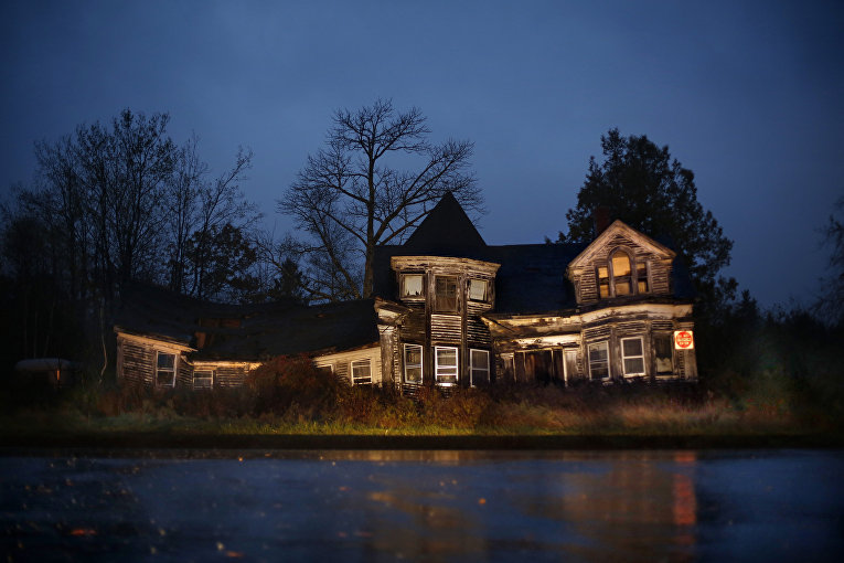 Фермерский дом в американском городе Сиспорт, штат Мэн