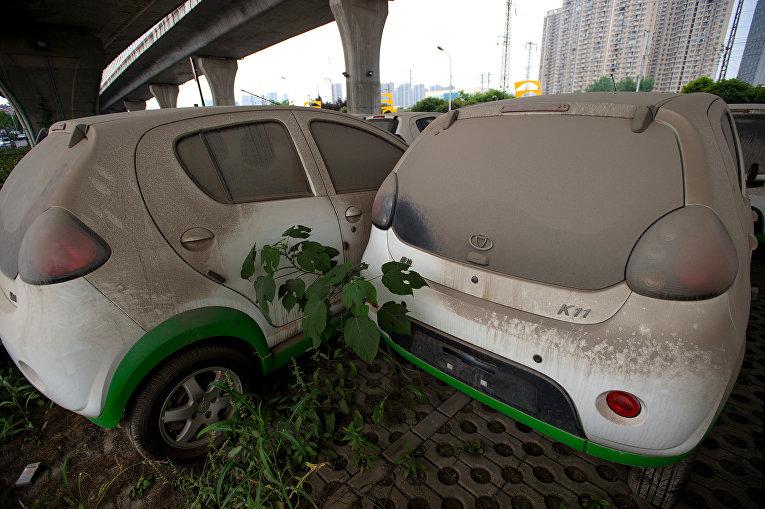 Новые автомобили Kandi Electric в городе Ухань