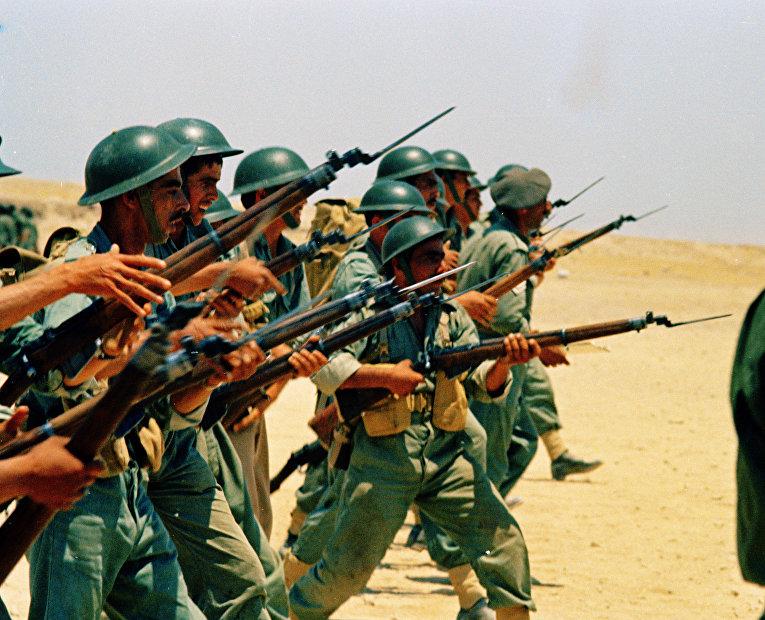 Учения иорданских войск на израильской границе, июнь 1976 года