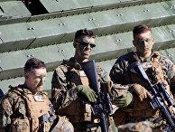 Американские морские пехотинцы во время ежегодных учения НАТО в Латвии