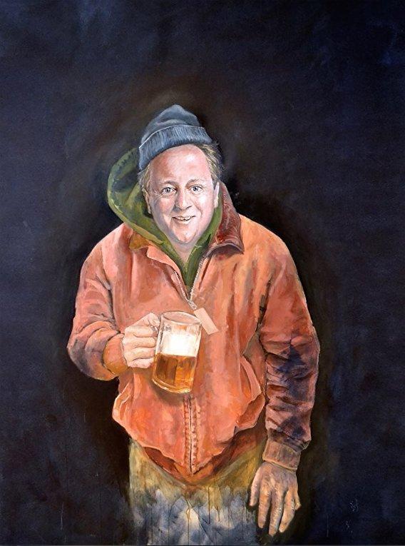 Карикатура на Кэмерона