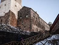 Выборгский замок в городе Выборг