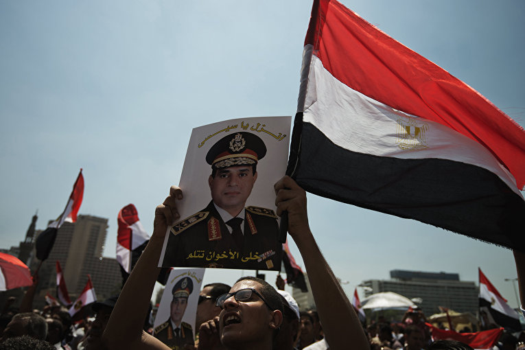 Президент Египта Абдул Фаттах Халил Ас-Сиси