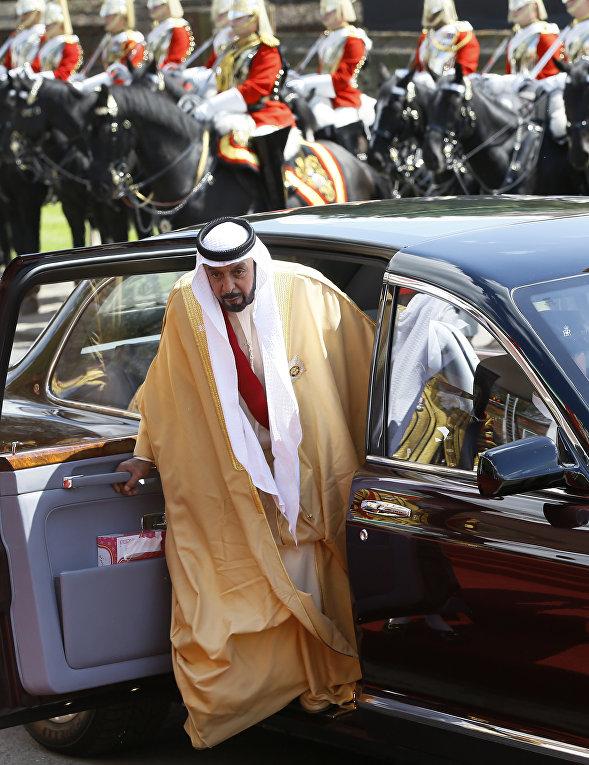 Президент ОАЭ Халифа ибн Зайд аль Нахайян