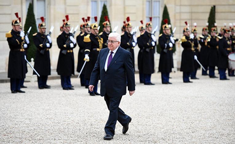 Президент Ирака Мухаммед Фуад Масум Хаврами