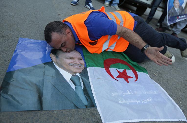 Президент Алжира Абдель Азиз Бутефлика