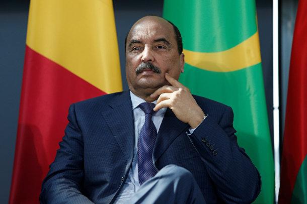 Президент Мавритании Мохаммед ульд Абдель Азиз