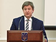 Министр финансов Украины Александр Данилюк на заседании Кабинета министров Украины в Киеве