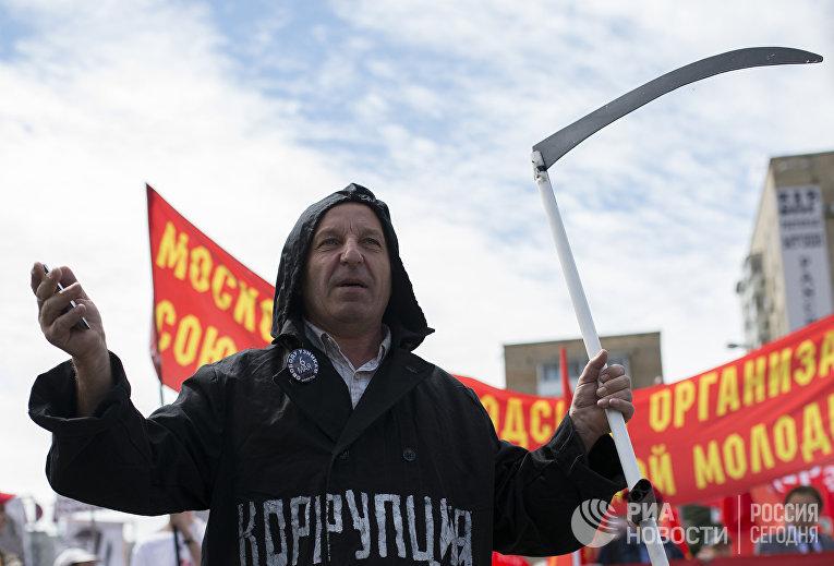 Шествие оппозиции в Москве