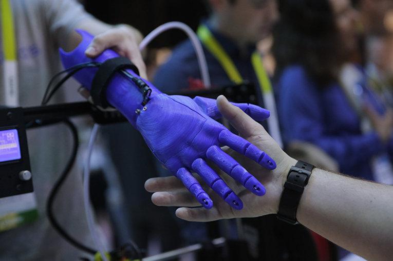 Ручной протез, напечатанный на 3D-принтере