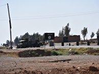 Освобожденный пригород сирийского города Ракка. 13 июня 2017