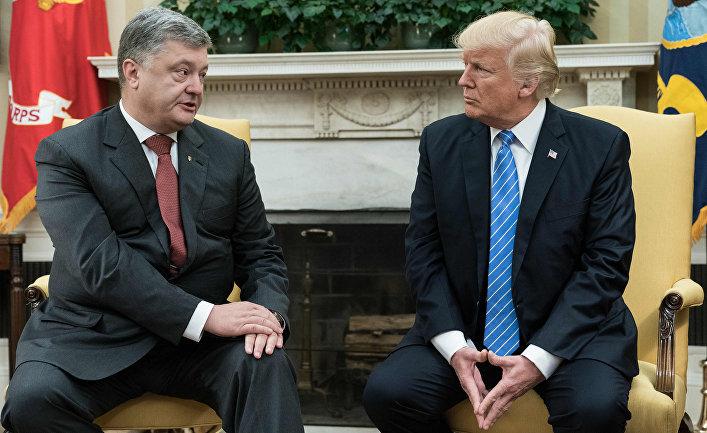 Картинки по запросу Порошенко и Трамп - фото