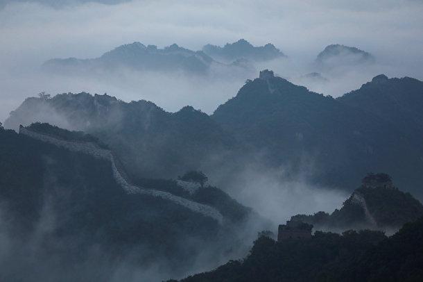 Туман над Великой Китайской Стене
