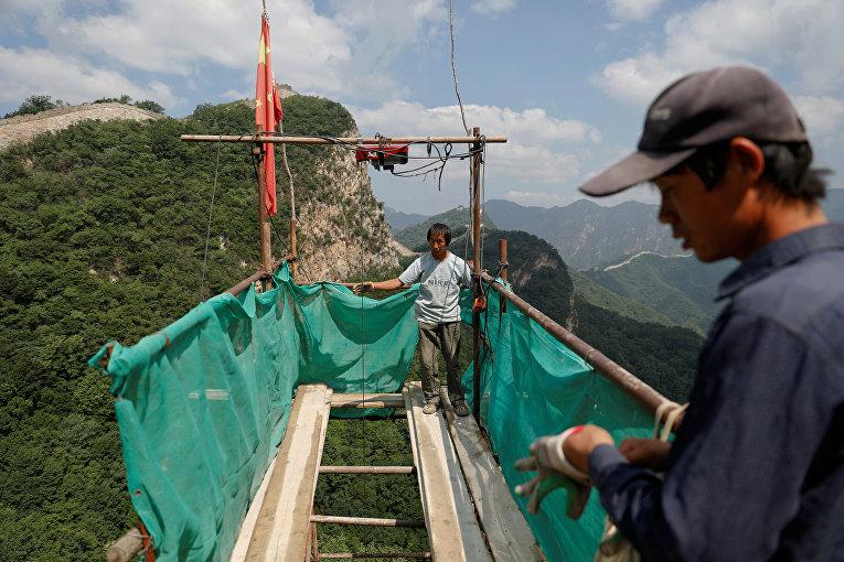 Реконструкция участка Великой Китайской Стены