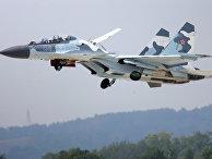 Самолет Су-30 МК