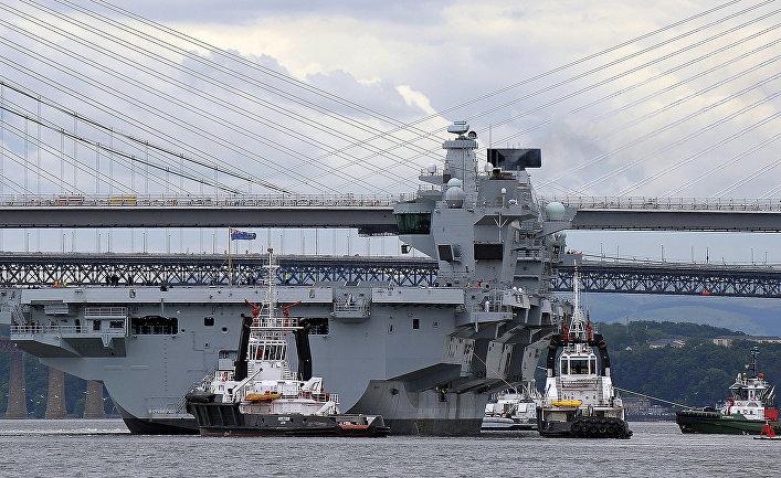 РФ устроит слежку за новым авианосцем ВМС Великобритании — Times