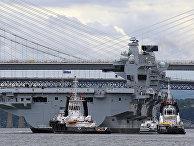 Новый британский авианосец «Королева Елизавета»