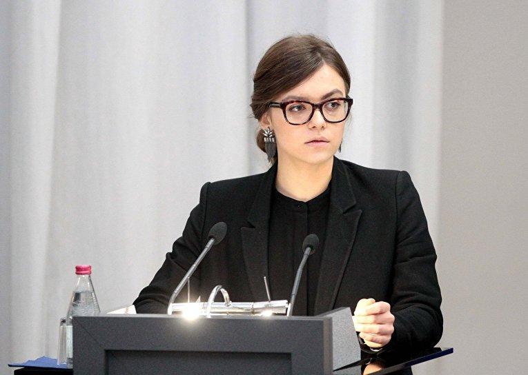 Замминистра МВД Украины Анастасия Деева