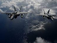 Истребители ВМС США F/A-18