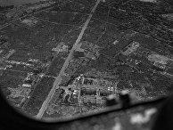 Вид на Хиросиму, 5 сентября 1945 года