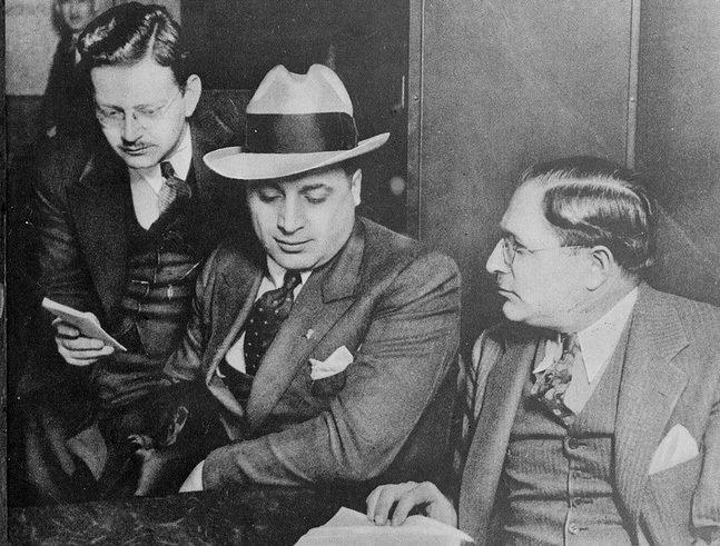 Аль Капоне, американский гангстер