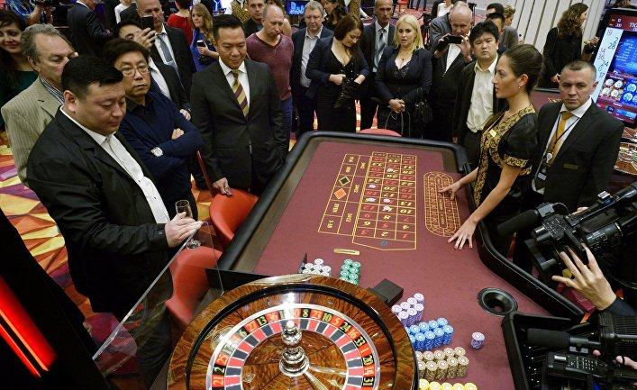 """Открытие первого казино в игорной зоне """"Приморье"""""""