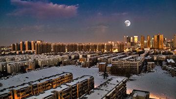 25 ноября 2015. Город Чжэнчжоу в китайской провинции Хэнань
