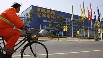 Магазин Ikea в Китае