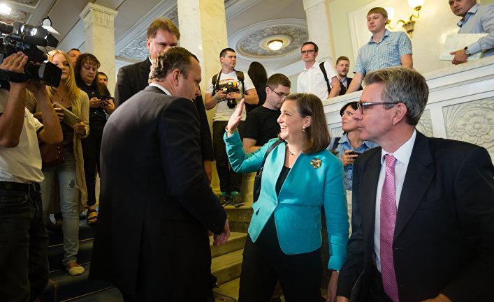 Виктория Нуланд и Джеффри Пайетт