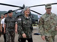 Министр иностранных дел Южной Кореи Кан Гюн Ва