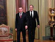 Глава МИД РФ С. Лавров провел ряд встреч